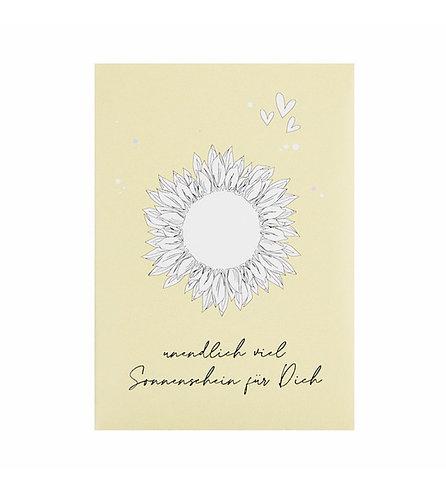 Verblühmeinnicht - Sonnenschein für dich