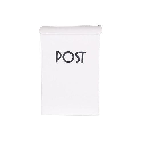 Briefkasten in Weiß