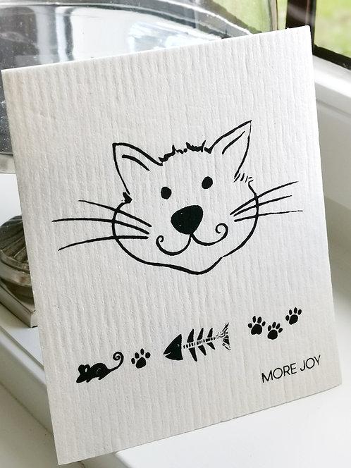 """Spültuch """"Grinse-Katze"""""""