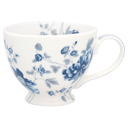 Greengate Teacup - Charlotte white