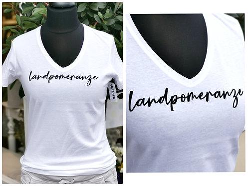 """T-Shirt """"Landpomeranze"""" Gr. 1 Old White"""