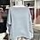 Thumbnail: Vokuhila - Pullover Hellblau meliert