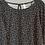Thumbnail: SALE - Schwarze Bluse mit Streublümchen von Soya Concep