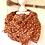 Thumbnail: Halstuch -  Braun mit kleinen Blümchen