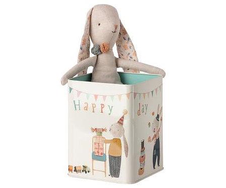 Maileg - Happy Bunny - in happy box .