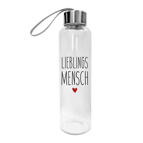 """Trinkflasche """"Lieblingsmensch"""""""