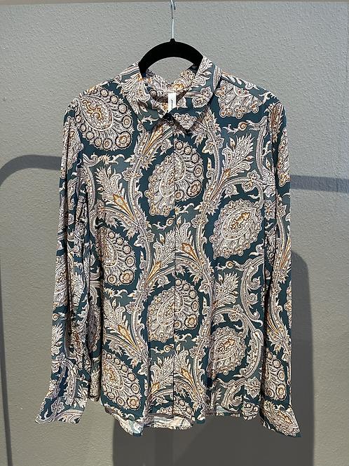 SALE  - Grünbraune Bluse von Soya Concept