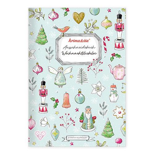 Krima & Isa - Ausschneidebuch Weihnachtsliebelei