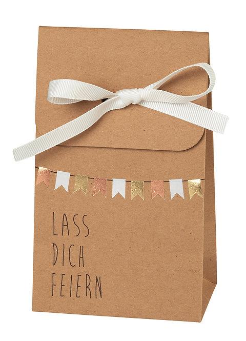 """RÄDER - Geschenktasche """"Lass dich feiern"""""""