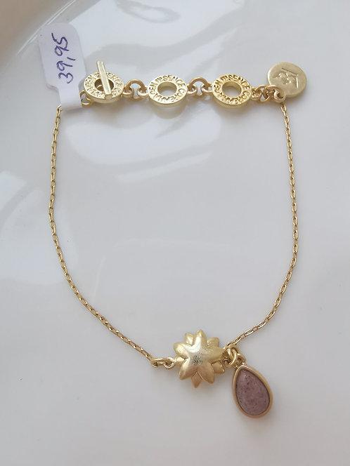 Goldenes Armband mit Sonne und Tropfen von Sence Copenhagen
