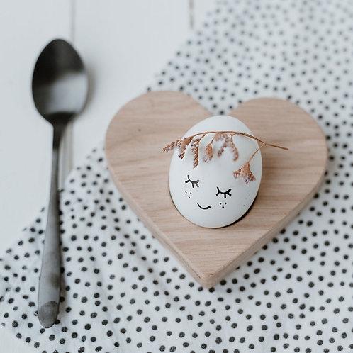 Eierbecher Herz