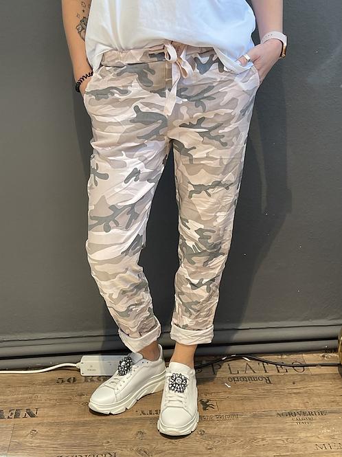 Camouflage - Hose Rosa