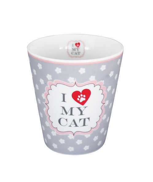 "Happy Mug ""I love my cat"" von Krasilninikoff"