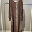 Thumbnail: SALE  -  Braunes Kleid von Soya Concept mit Schlangenmuster