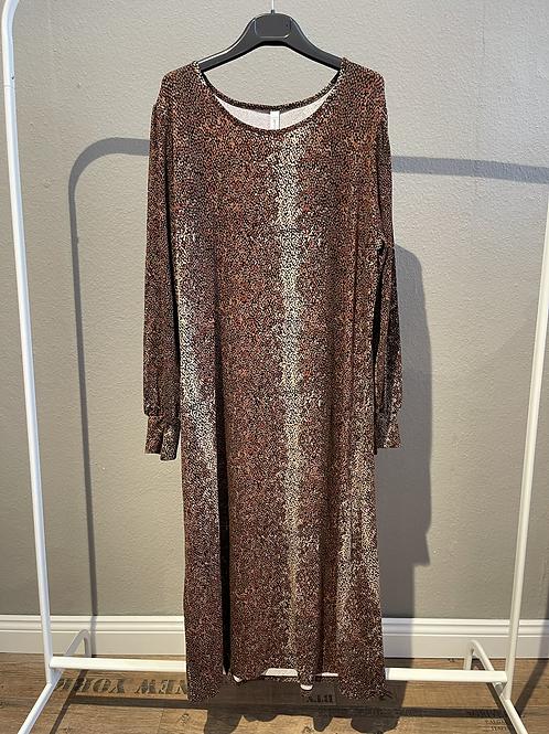 SALE  -  Braunes Kleid von Soya Concept mit Schlangenmuster