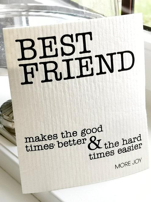 """Spültuch """"Best Friend"""""""