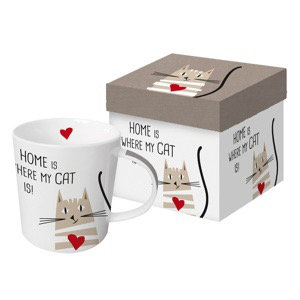 "Tasse ""All you need is love and a cat """