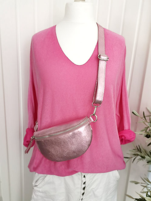 Leichtes Shirt Pink - One Size L/XL (40-46)