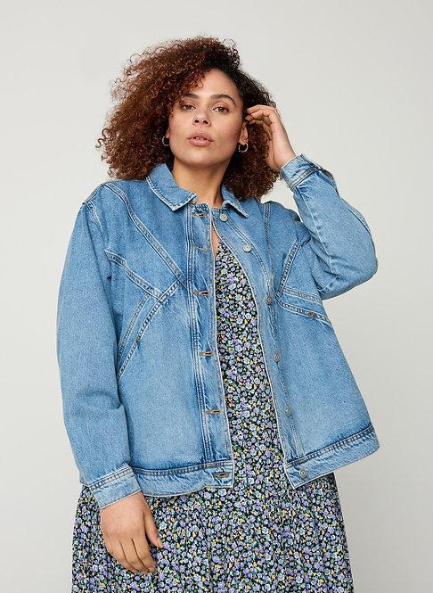 Helle Jeansjacke von Zizzi