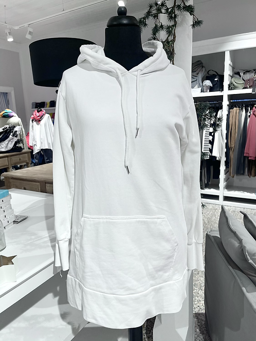 Kuschel-Sweatshirt - LANG Weiß