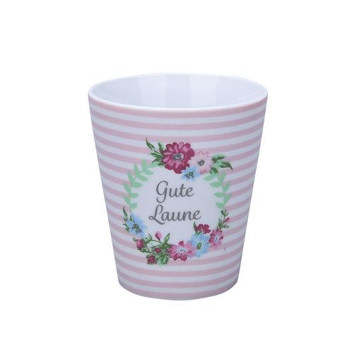 """Süße """"Gute Laune""""-Tasse von Krasilninikoff"""