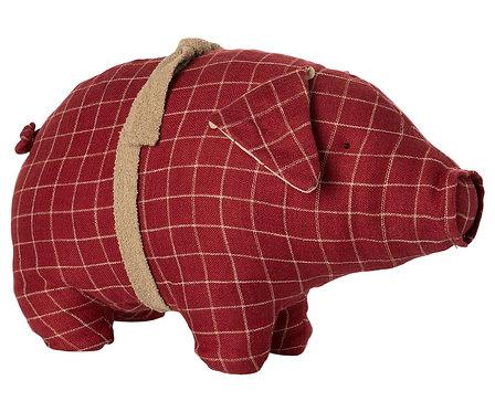 Maileg - rotes Plüschschweinchen
