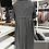 Thumbnail: Traumschönes Kleid - Schildkröt-Kragen Grau