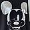 Thumbnail: Oversized-Sweatshirt - Mit Mickey - Schwarz