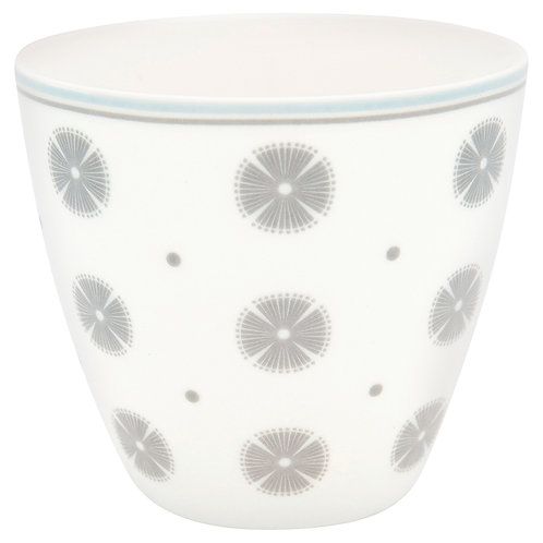 Greengate Lattecup - Saga White