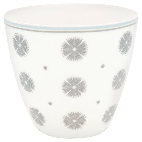 Greengate Lattecup - Saga White