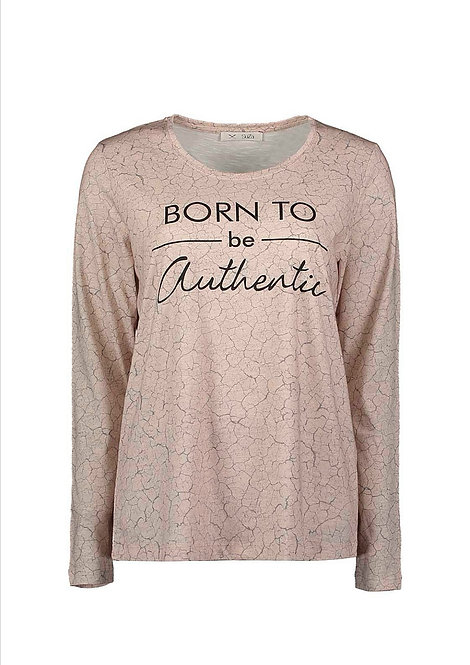 "SuZa - Leichtes Shirt ""Born to be..."""