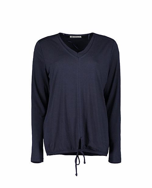Suza - Blaues leichtes Shirt