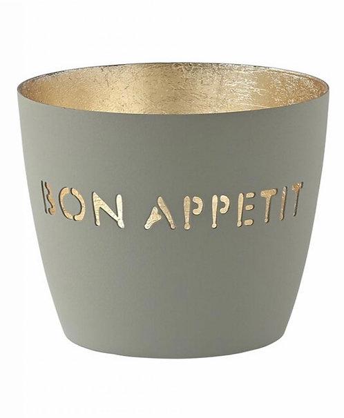 Giftcompany - Madras Windlicht - Bon Appetit