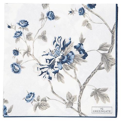 Greengate Papierserviette - Charlotte White