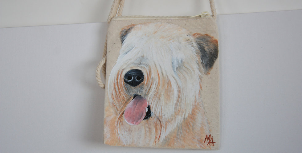 Soft Coated Wheaten Terrier Canvas Pouch