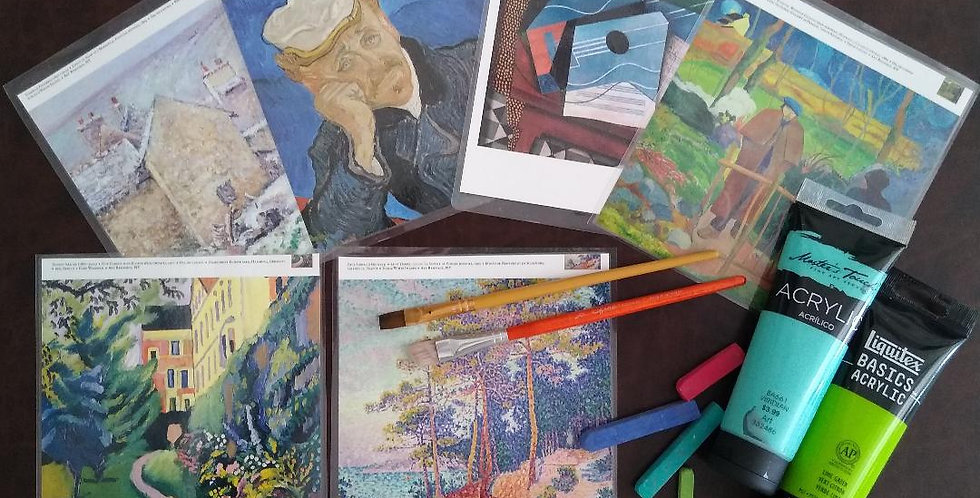 Meet The Masterpieces Wednesdays (Ages 7-14)