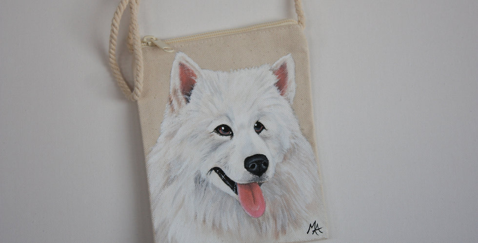 Samoyed Canvas Pouch