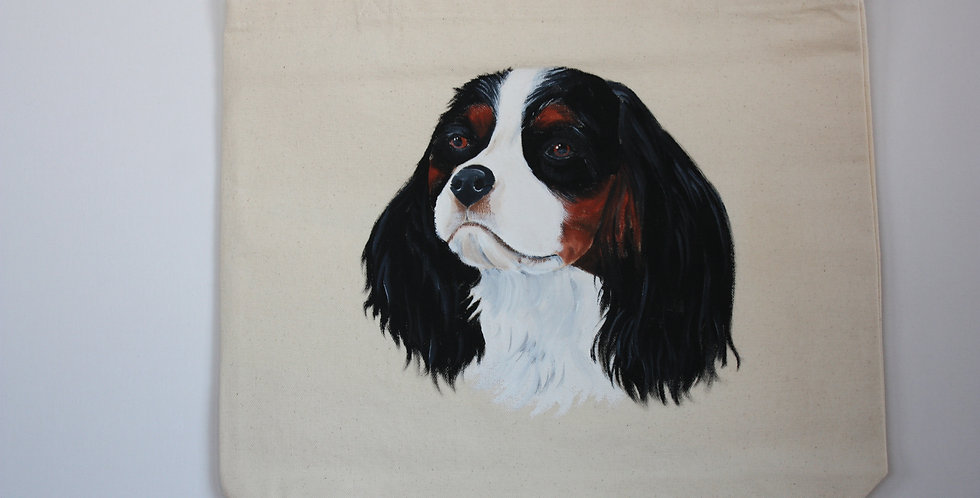 Cavalier King Charles Spaniel (Black and Tan)