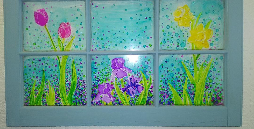 Spring Window Painting May 15th 6-8:00