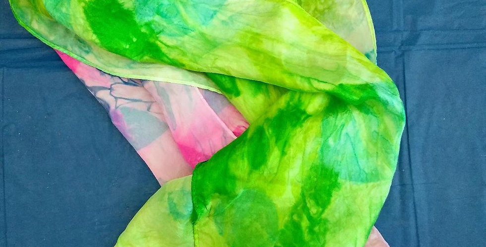 Silk Scarf Dying October 10