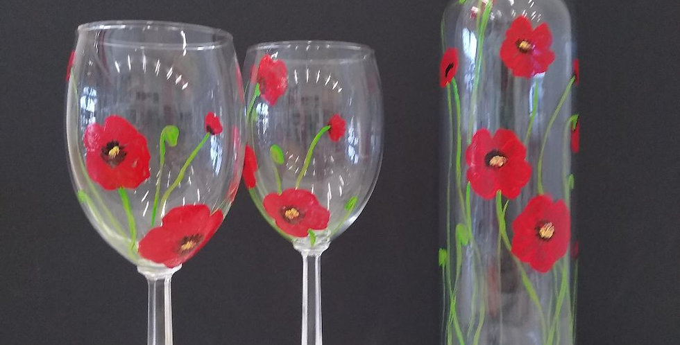 Wine Glass Painting June 24th