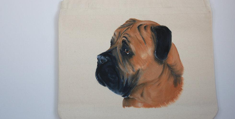 Mastiff Canvas Tote Bag