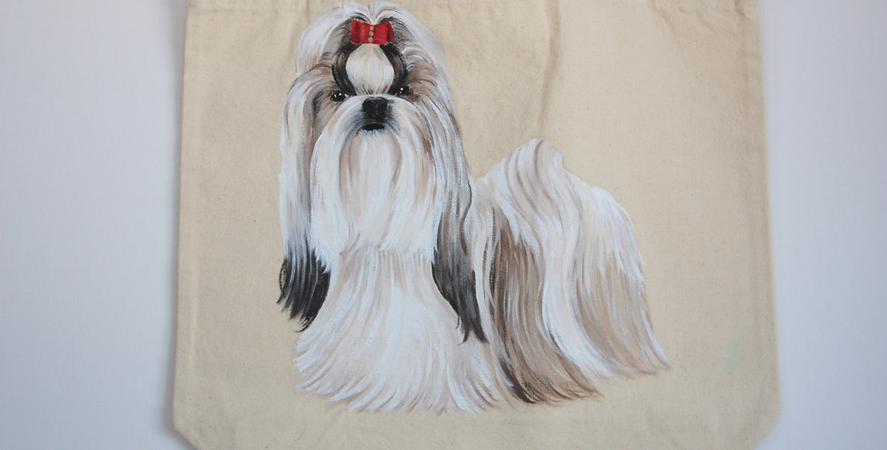Shih Tzu Canvas ToteBag