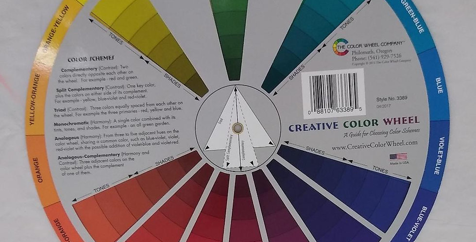 Color Theory Class September 17th