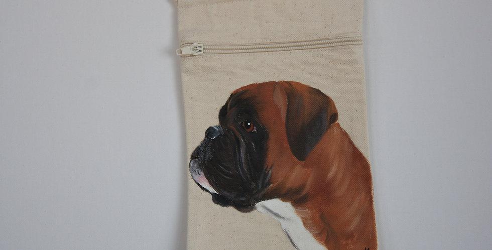 Boxer Canvas Pouch