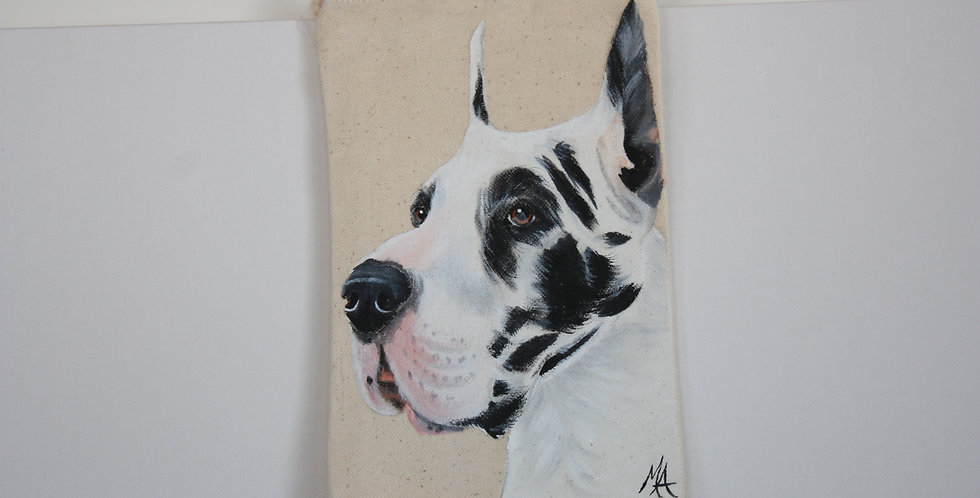 Great Dane Canvas Pouch