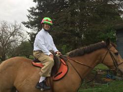 Riding Bucky