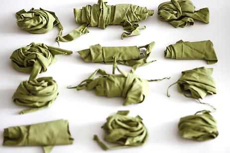 Pack de retazos orgánicos verde.png