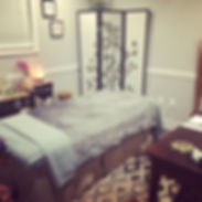 Sandra Canby Massage Room at Restore Therapy Spa