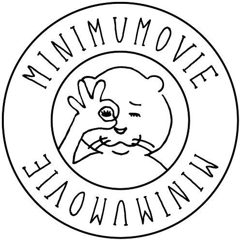 MINIMUMOVIEステッカー 5枚組